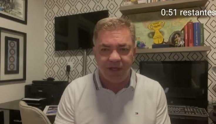 Gean Loureiro, prefeito de Florianópolis, testa positivo para covid-19