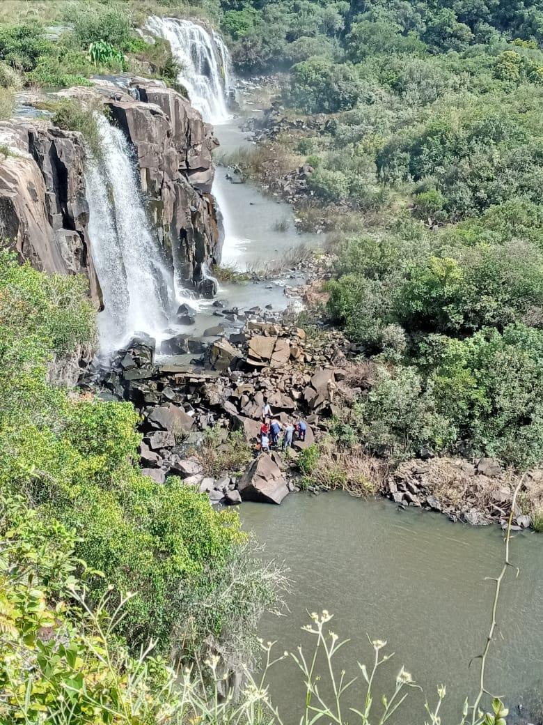Corpo de homem é resgatado em cachoeira de Salto do Caveiras, em Lages