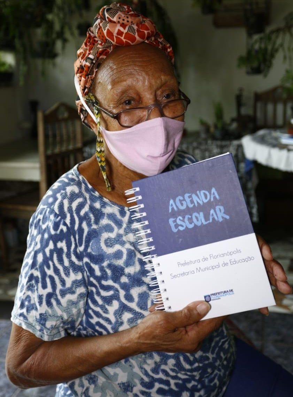 Adélia Domingues da Silva. Foto: Leonardo Sousa/PMF/Divulgação