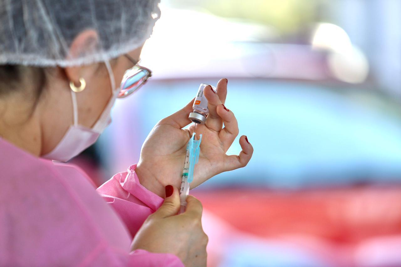 Vacinação contra a covid-19 em Florianópolis