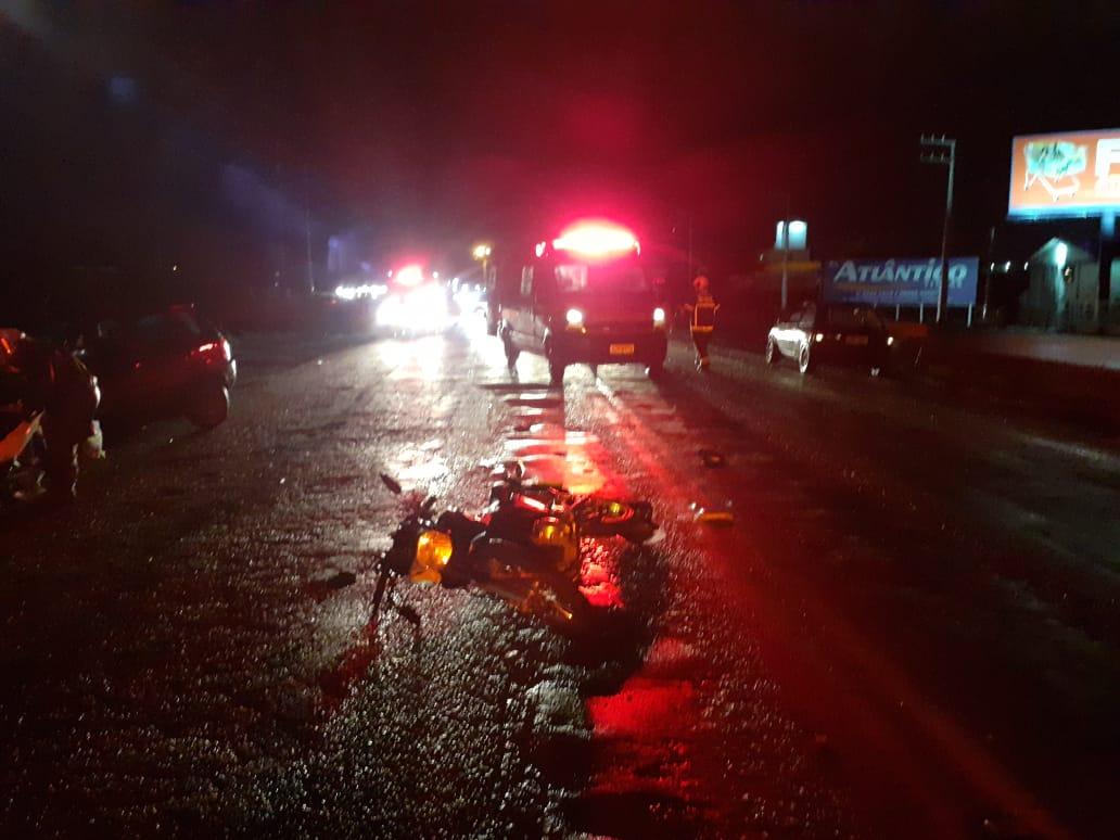 Homem morre após ter perna amputada em acidente em Navegantes