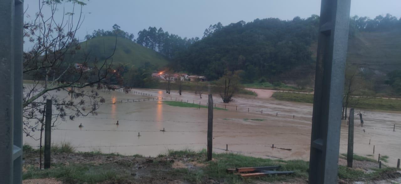Chuva em São Martinho, Sul de SC