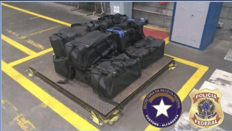 PF apreende 6 toneladas de cocaína durante operação