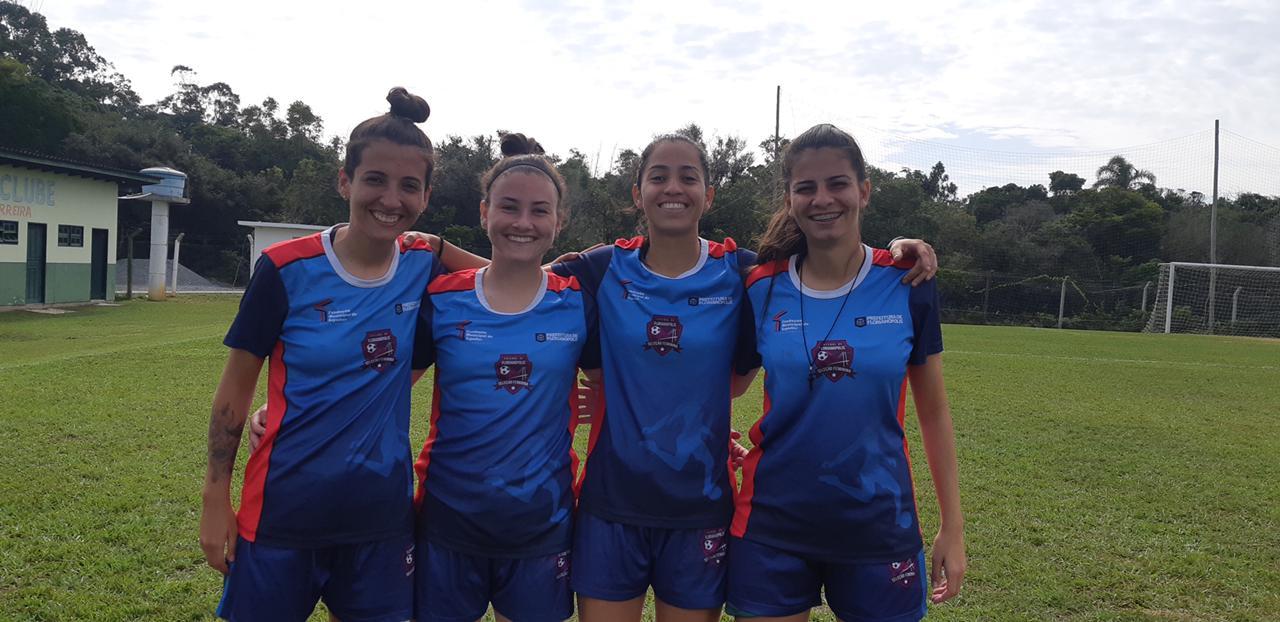 Leões da Ilha treina visando o Campeonato Catarinense Feminino de 2021
