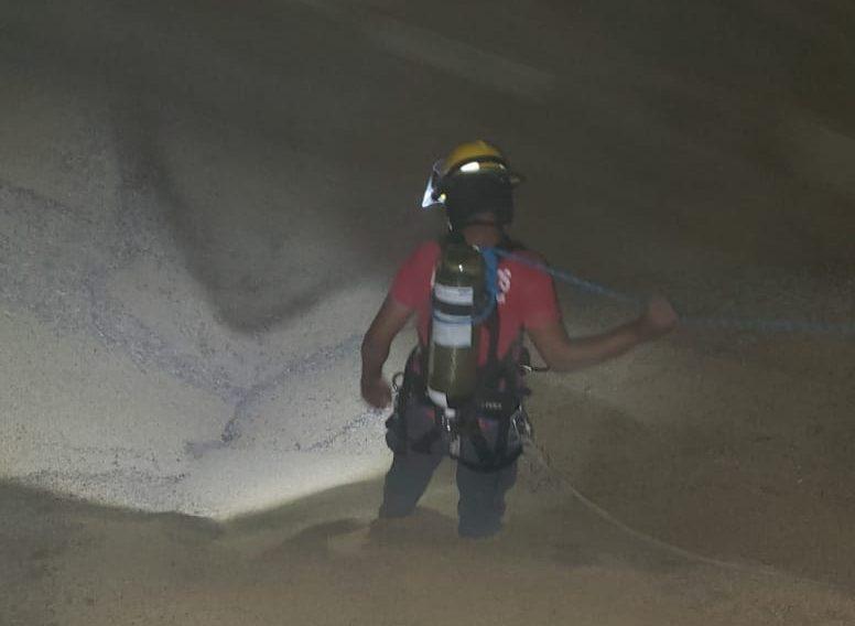 Homem morre após cair em silo de soja no Vale do Itajaí