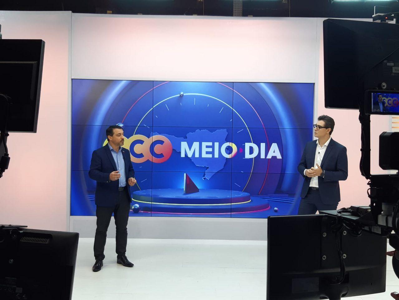 Entrevista Carlos Moisés no SCC Meio-Dia