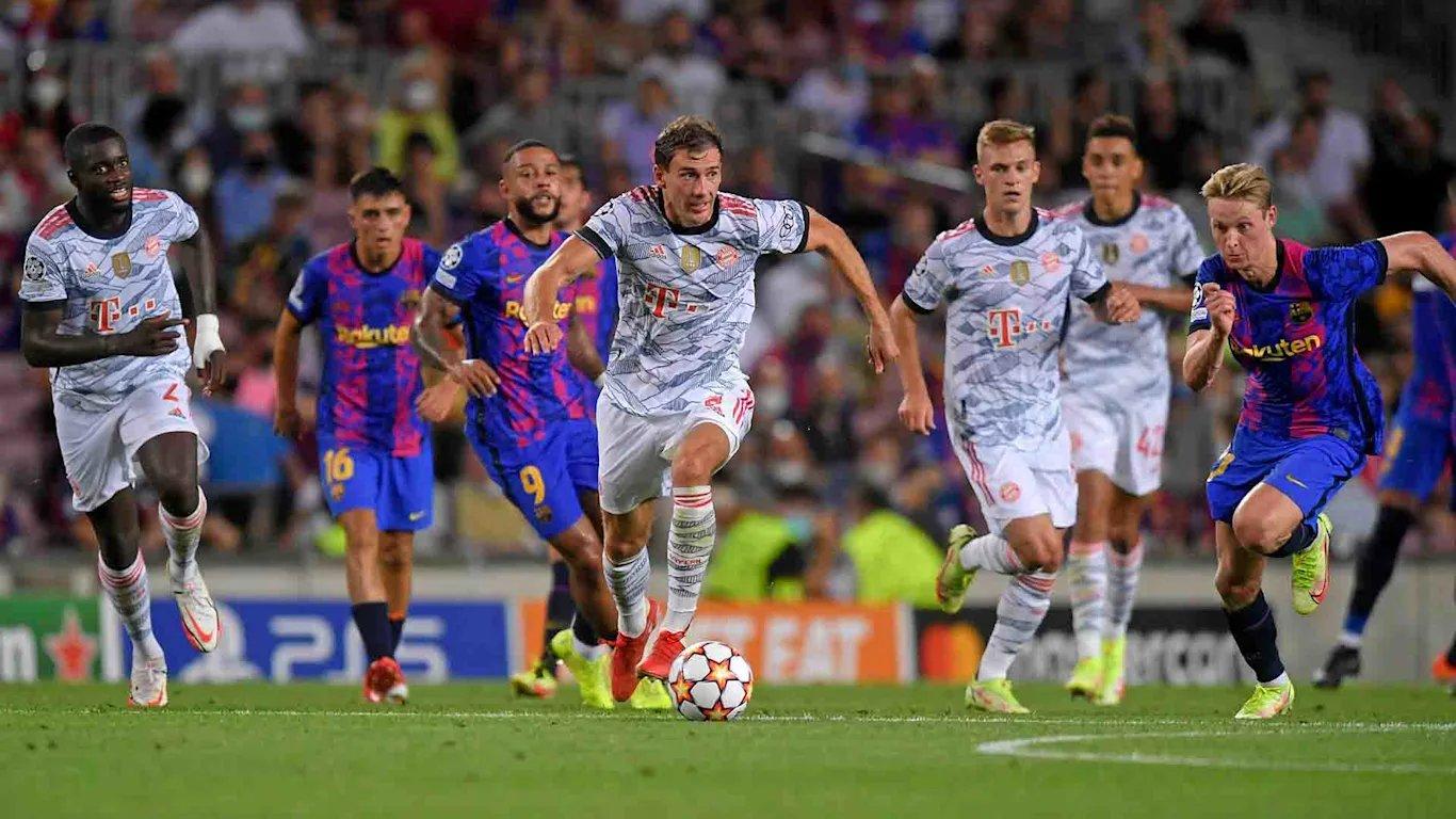 Bayern vence o Barcelona com tranquilidade em estreia na Liga dos Campeões