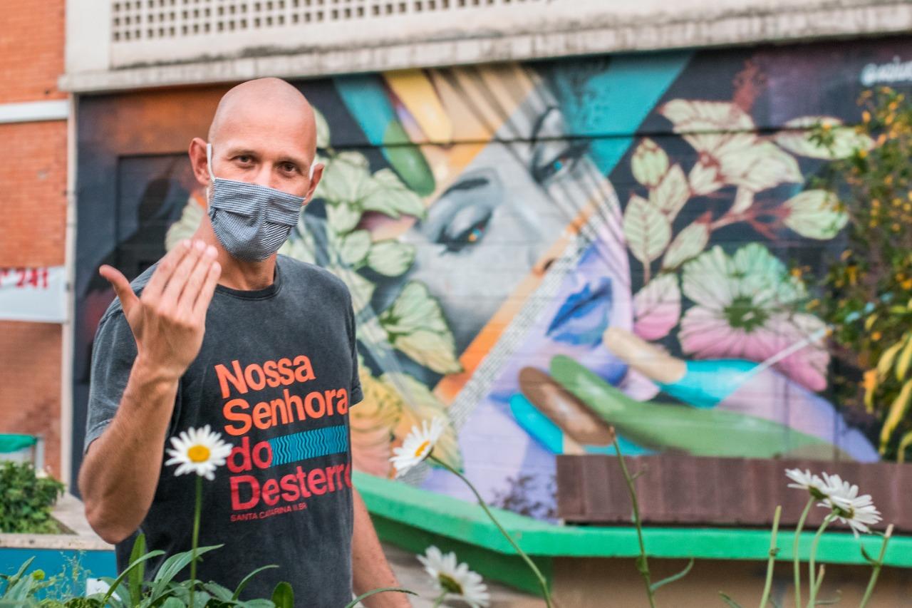 Street art Tour em Florianópolis terá apresentação exclusiva para surdos