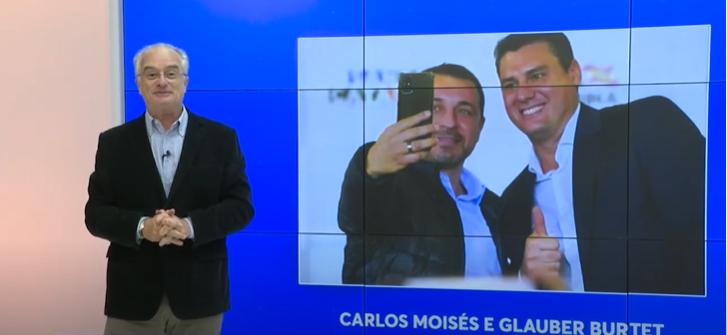 Carlos Moisés está bem na foto; mas, uma coisa é administração, outra coisa é a eleição
