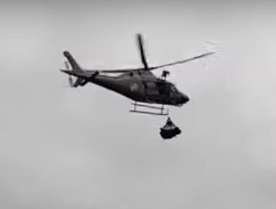 Vídeo: Corpos de casal encontrado em Santo Amaro da Imperatriz são retirados de helicóptero